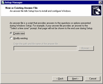 Running Sysprep on Windows XP and Windows Server 2003